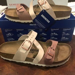 Birkenstock Salina rose asst narrow new